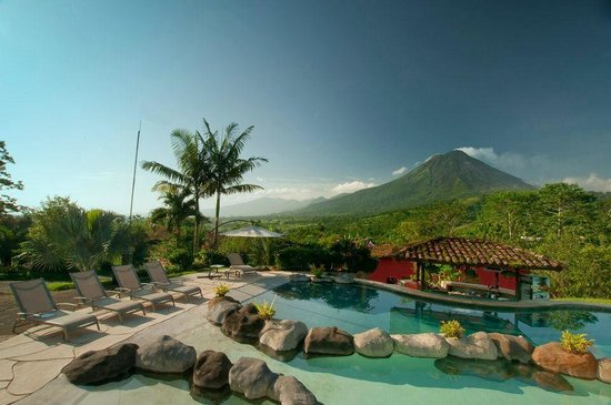 Hotel Mountain Paradise: Swimming pool