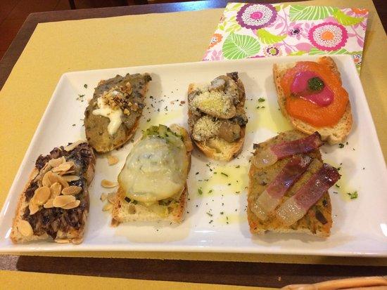 Osteria Numero Uno: Crostini spettacolari