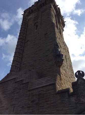 National Wallace Monument: Closeup