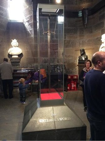 National Wallace Monument: The Sword!