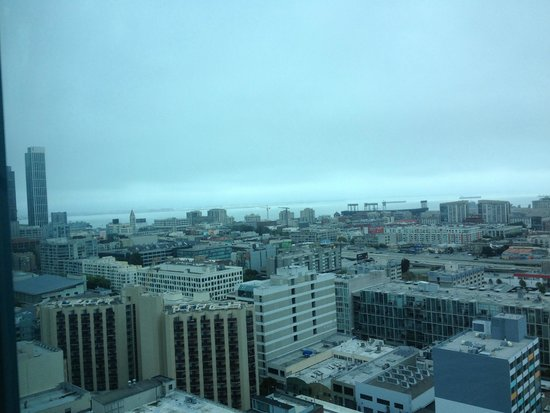 InterContinental San Francisco: A view from our room.  In the background is the Giants stadium