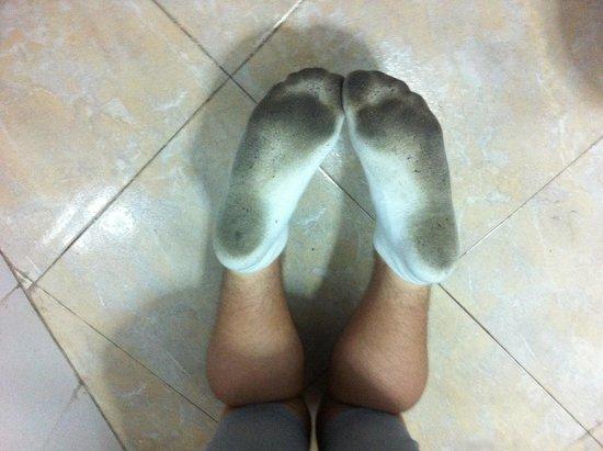 Apartamentos Las Faluas: My sons socks