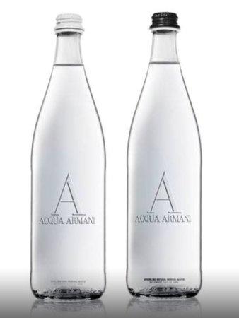Caffe Dell Opera 3: Armani Water .. Couture meets Cuisine