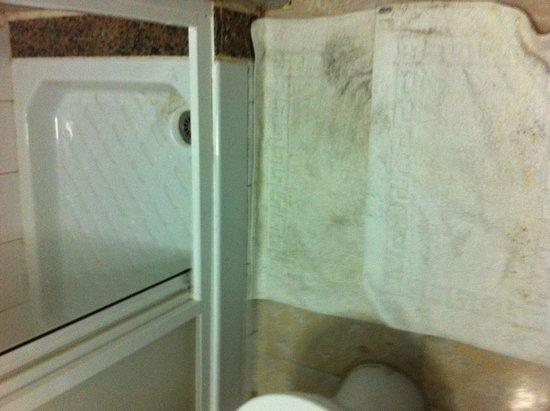 Apartamentos Las Faluas: Shower tray