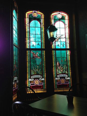 The Audubon Inn : The entire hotel is full of beautiful stained glass