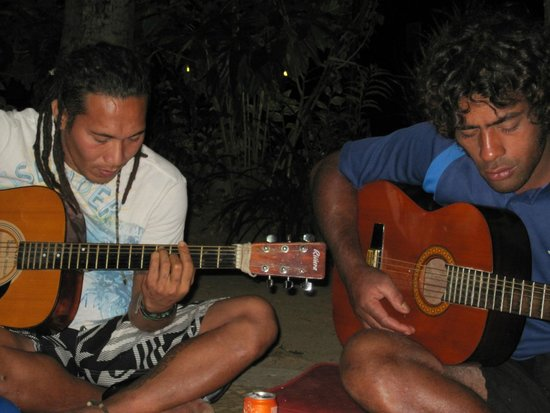 Travellers Beach Resort : Lovely life music in the evenings