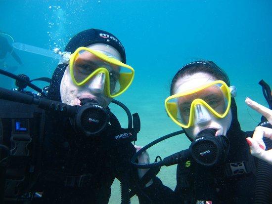 Atlantis Diving Lanzarote : en pleno buceo :)