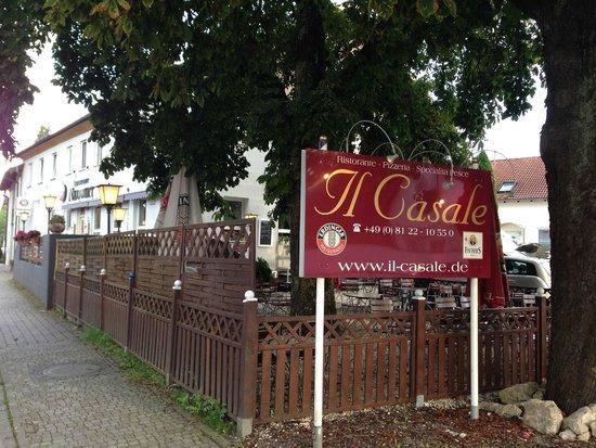 Il Casale: Great restaurant in little Schwaig, Germany