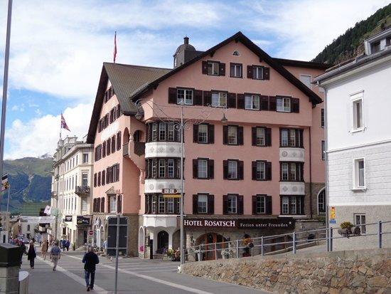 Hotel Rosatsch: Fronte
