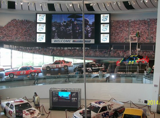 NASCAR Hall of Fame : Informative, educational and entertaining visuals