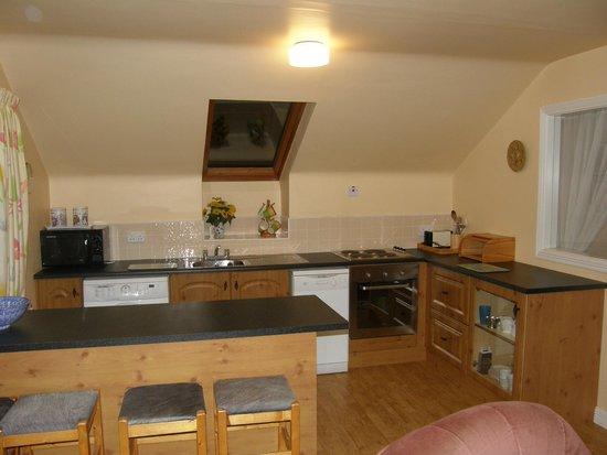 Cornamona, Irlanda: Kitchen in the apartment