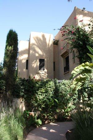 Club Med Marrakech le Riad : un des bâtiment habritant les suites