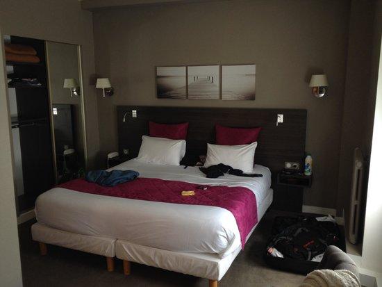 Hotel des Dunes: Chambre supérieure