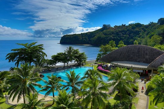 Arue, French Polynesia: Resort View