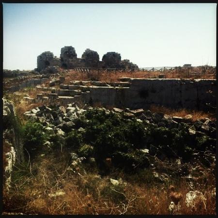 Eurialo Castle: Le mura