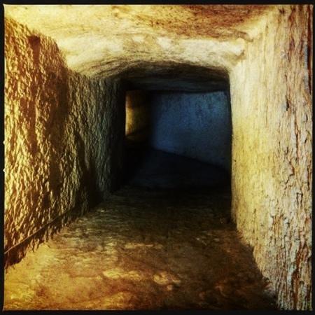 Eurialo Castle: Le gallerie