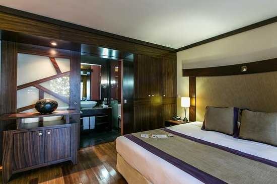 Tahiti Pearl Beach Resort: Deluxe room