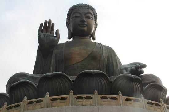 Grand Bouddha : Buddha up close