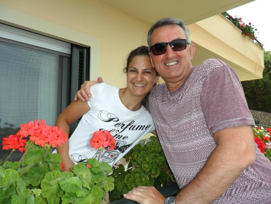 Pelagos Apartments: Sadly saying goodbye and thank you to the lovely Mary