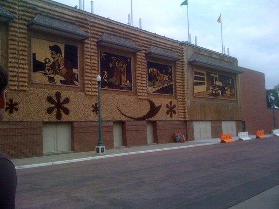 corn palace walls
