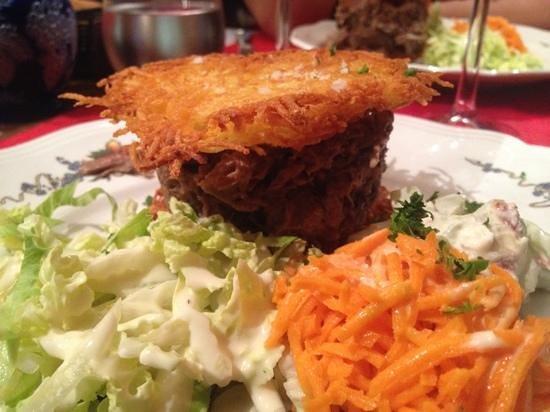 La Coccinelle: Burger mit Rösti - lecker