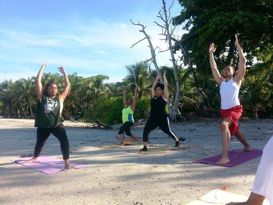 Atrapasueños Dreamcatcher Hotel: Morning Yoga