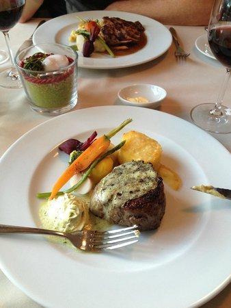 Romantik Hotel Muottas Muragl : Gourmet-Küche