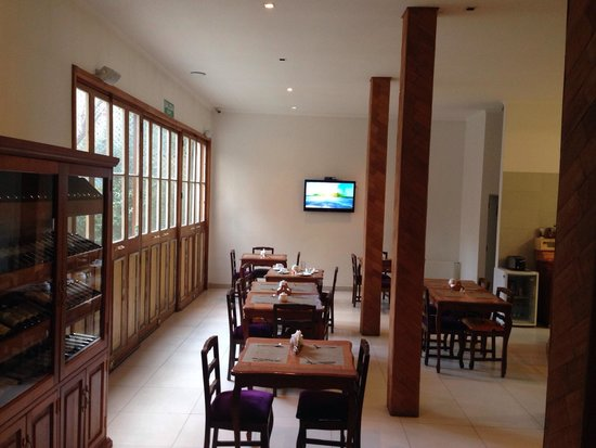 Hotel Loreto: Local onde é servido o café da manhã