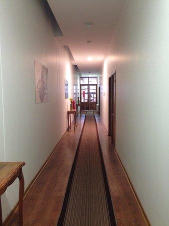 Hotel Loreto: Corredor do primeiro andar