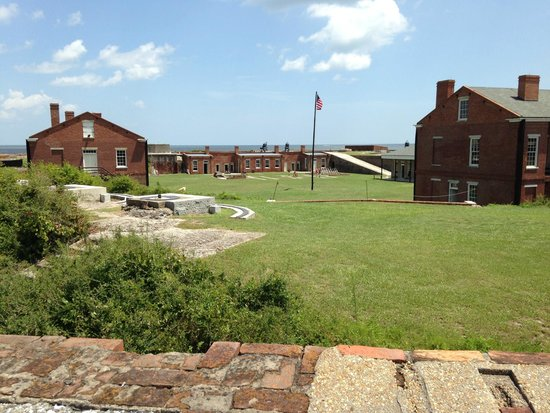 Fort Clinch State Park: Fort view