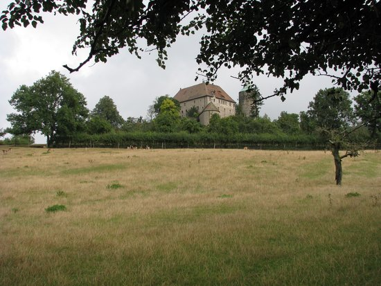Hotel Burg Colmberg: The castle from a distance