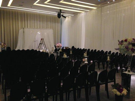 Four Seasons Hotel Toronto: Another wedding setup in Vinci Ballroom