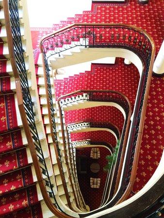 Hotel Carlton: Último piso