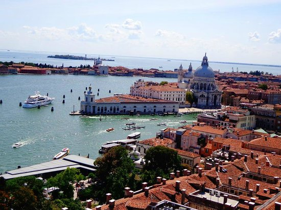 Campanile di San Marco: View from above 1