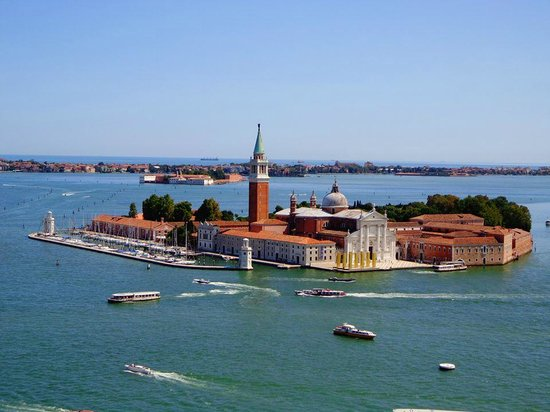 Campanile di San Marco: View from above 2