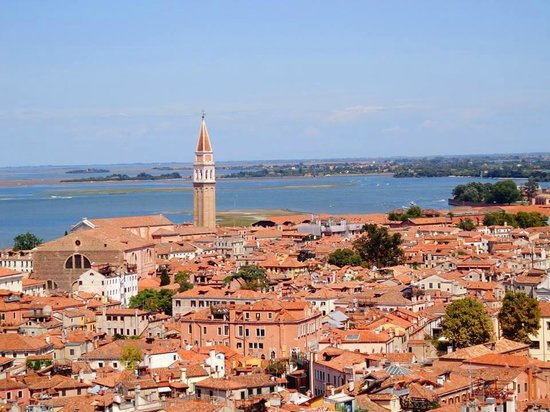 Campanile di San Marco: View from above 6