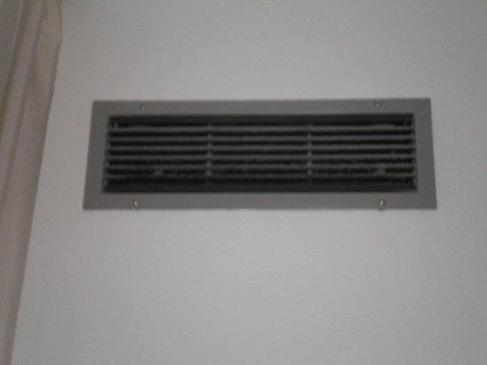 Conca Park Hotel: bocchetta dell'aria condizionata