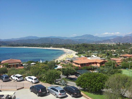 Hotel Club Saraceno : il villaggio dall'alto
