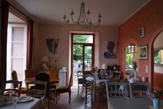 Hostellerie Val de Creuse: Espace déjeuner