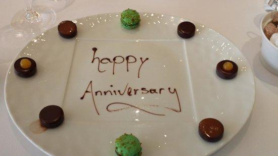 Restaurant Martin Wishart: Anniversary Petit Four