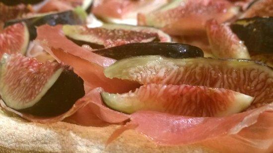 Farina del Mio Sacco: pizza prosciutto e fichi