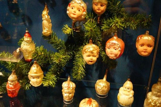 Deutsches Weihnachtsmuseum: Экспонаты музея