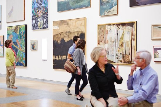 The Portland Museum of Art welcomes 150,000 visitors a year.