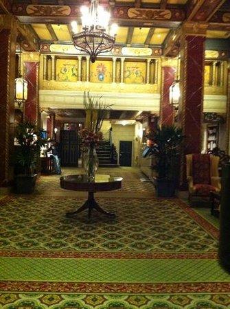 Serrano Hotel: reception