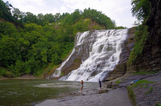 Ithaca Falls Natural Area : Ithaca fall