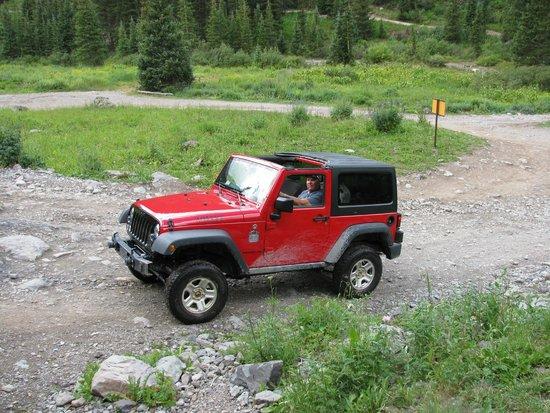 Switzerland of America Tours : Jeep Willy's 2-Door 4x4 Switzerland of America