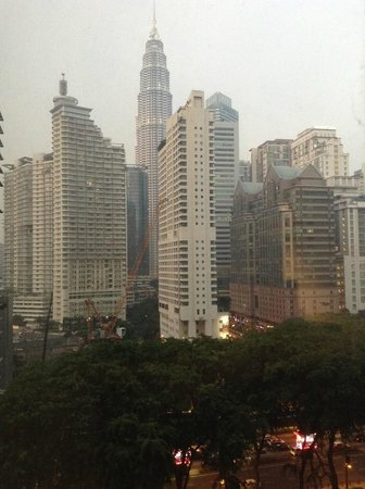 Shangri-La Hotel Kuala Lumpur : La vista dalla camera