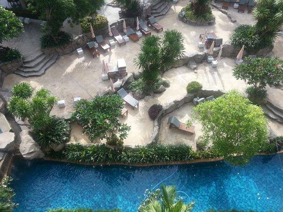 Rawai Palm Beach Resort: 5th floor view