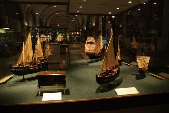 Museu da Marinha : Maquettes de différentes caravelles