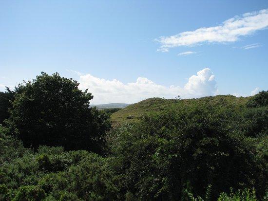 Sandbank Holidays: view from the balcony